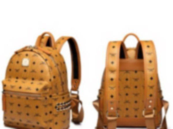 Hakiki Deri Yüksek Kalite 2 boyutu 2019 erkek kadın Sırt Çantası ünlü Sırt Çantası Tasarımcı lady sırt Çantaları Kadın erke ...