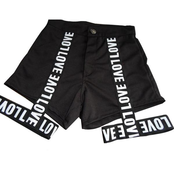 Black Love Shorts