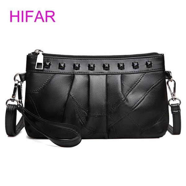 HIFAR Nice Women Messenger Bags Women Handbag Bolsas Dumpling Leather Shoulder Bag Crossbody Bags Female Bag Mom Package