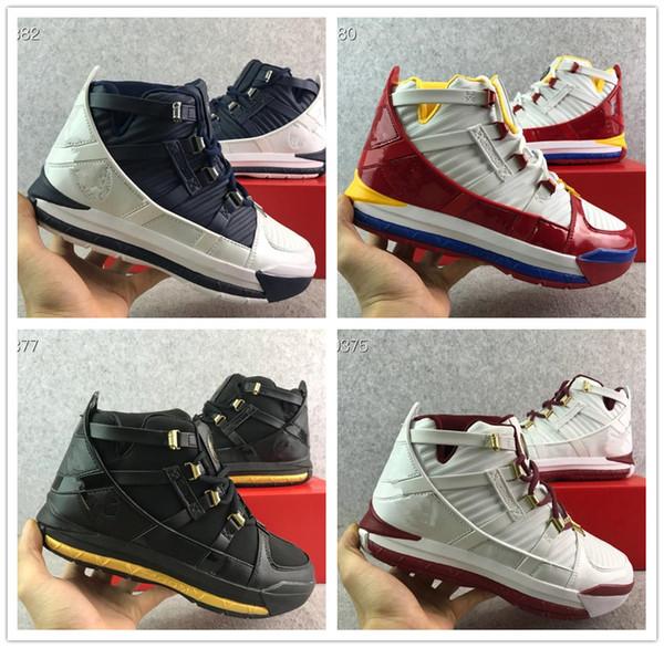 buy popular 1d6da a48b7 Großhandel Online 2019 Neue Ankunft Lebron III 3 Startseite SuperBron SVSM  PE 16 Zoom Sneakers LBJ 16s James 7 12 Von Bigsstore,  100.51 Auf De.Dhgate.