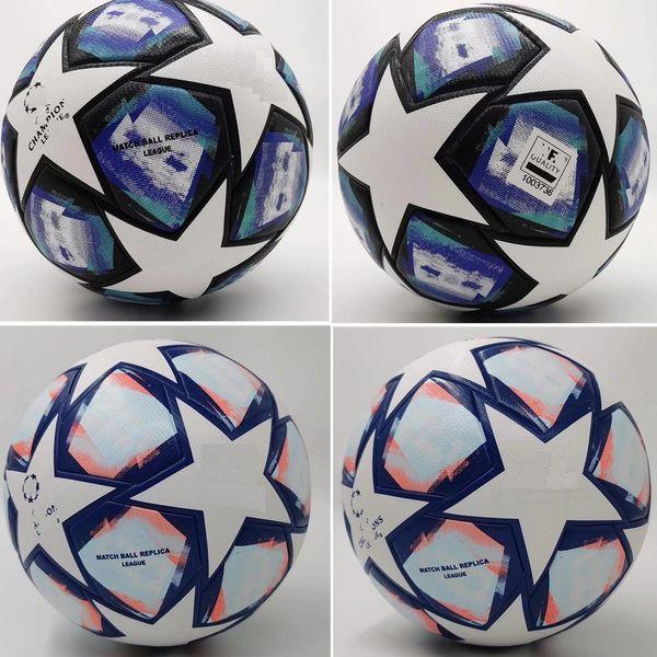 best selling New 2020 2021 European champion Soccer ball 20 21 Final KYIV PU size 5 balls granules slip-resistant football Free shipping