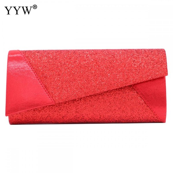 Chic Sequin Women'S Party Clutches Shining Sequined Envelope Evening Party Hand Bag Female Ladies Prom Weeding Clutch Handbag