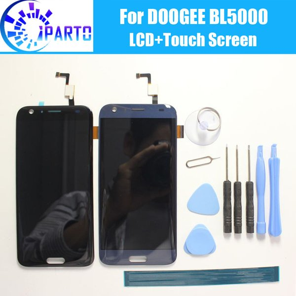 DOOGEE BL5000 LCD Display+Touch Screen 100% Original Tested LCD Digitizer Glass Panel Replacement For DOOGEE BL5000