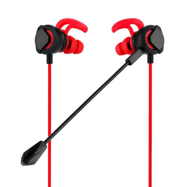 DP-CJ01 3.5mm earphones Stereo phone computer Gaming Headsets gaming In-ear drive-by-wire earbuds E-sports live streaming microphone