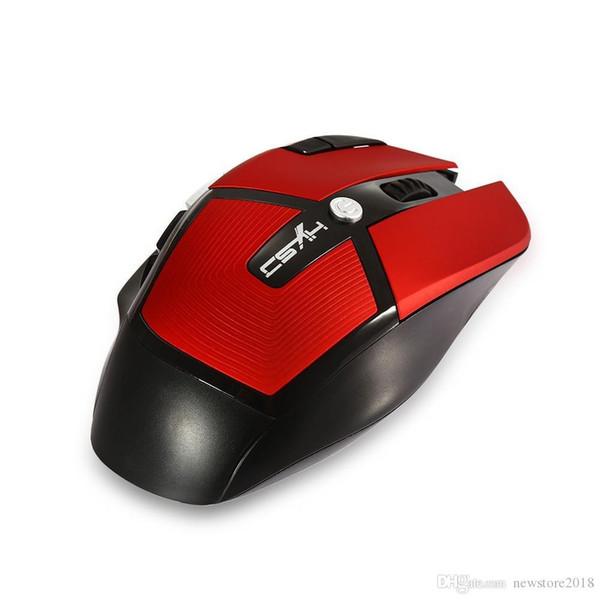 Prezzo di fabbrica N Novità 2.4G Wireless Ottico 8D 2400 DPI Mouse da gioco ergonomico regolabile DPI Pro gioco mic per PC laptop