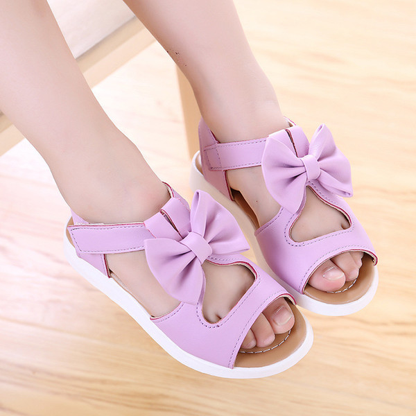 2019 Summer New Fashion Children Sandals Girl Shoe Princess Shoe Beach Shoes Kids Breathe Freely Soft Bottom Shoes