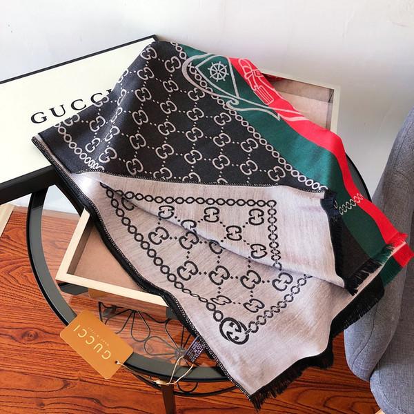 Classic fashion hot selling thick style warm 180*70cm wool autumn winter scarf shawl casual retro women's shawl