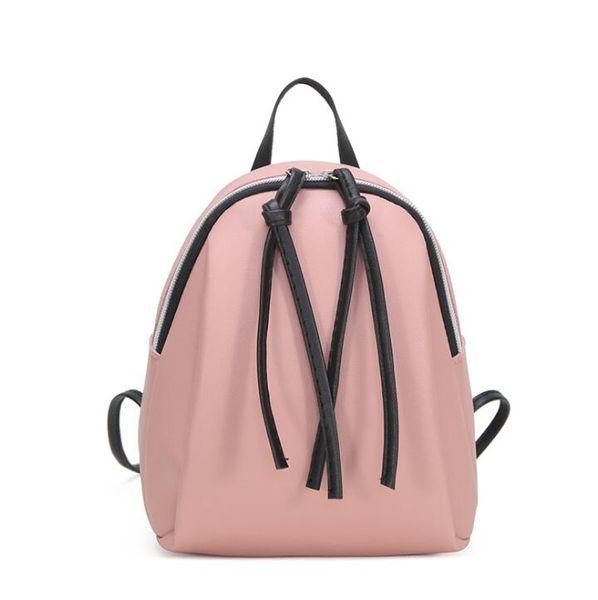 Summer and autumn new single shoulder diagonal handbag double pull tassel student shoulder ladies small backpack