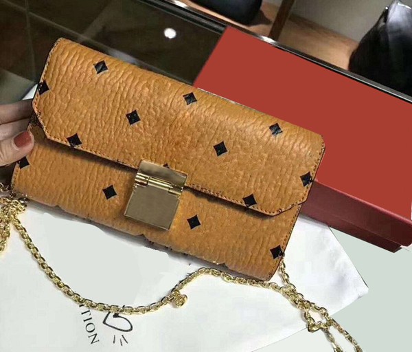 Designer Pink sugao designer handbags purses women messenger bag chain bag crossbody pu leather high quality purse clutch handbag