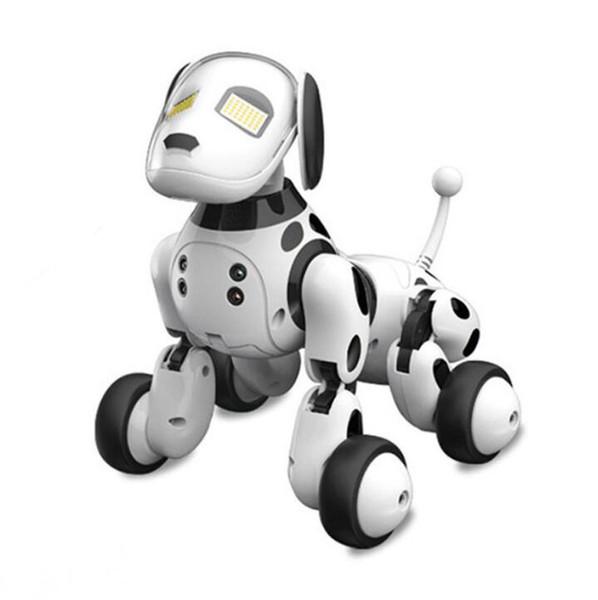 Acheter Dimei 9007a Robot Chien électronique Pet Intelligent Chien Robot Jouet 24g Intelligent Sans Fil Parler Télécommande Enfants Cadeau Pour