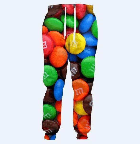 2019 new 3D pants men unisex personality pants men model waist elastic waist sports trousers hip hop street baggy pants jogger style
