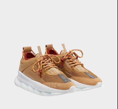 Qualité supérieure! RÉACTION DE CHAÎNE Love sneaker femmes hommes rouge noir poids chaîne poids liée lié designer mode sport Casual Shoes 81818
