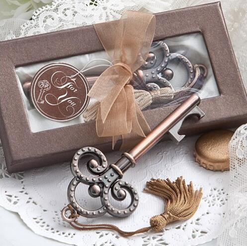 Ücretsiz Kargo Antiqued Anahtar Şişe Açacağı Düğün Iyilik Ve Hediyeler Düğün Malzemeleri Hediyelik Eşya Misafirler Için Hediyeler