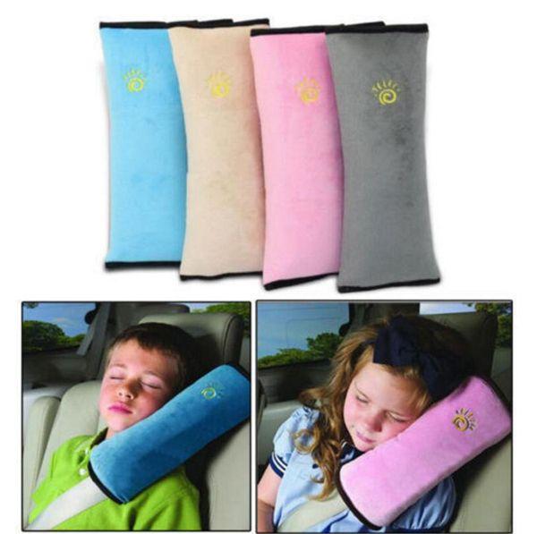 Soft Kids Safety Car Seat Belt Pad Strap Harness Shoulder Sleep Pillow Cushion