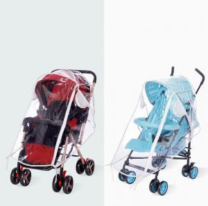 Transparent Stroller EVA Rain Cover Waterproof EVA Pram Cart Dust Raincoat For Baby Stroller Accessories Home Textile 50pcs OOA6175