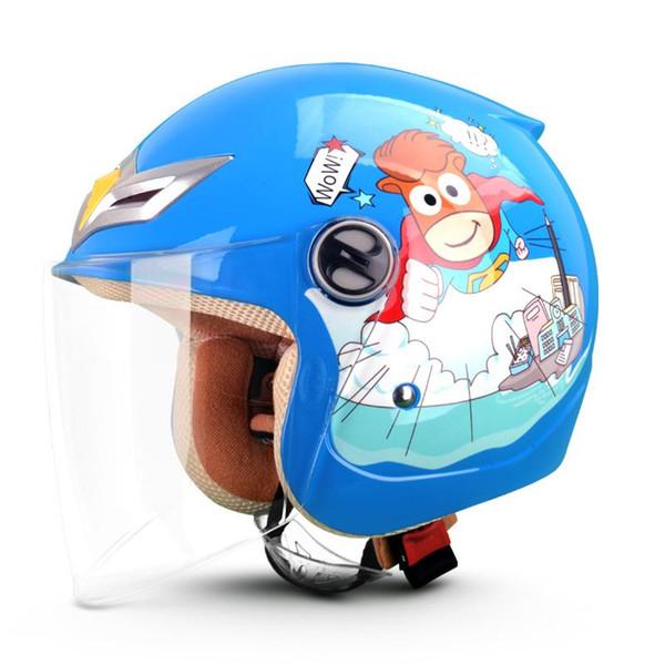 Envío gratis niños lindos motocicleta casco de niño cálido y cómodo Scooter Motor cascos de seguridad para niños