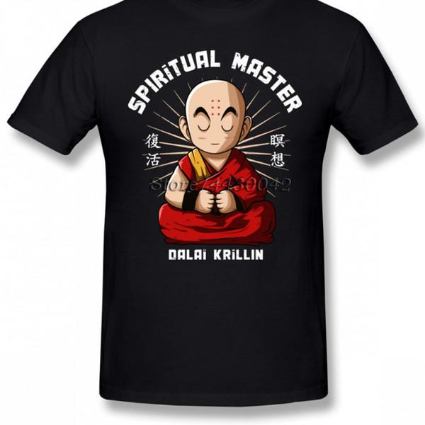 Dragon Ball Z Krillin Master T-Shirt für Männer Plus Size Baumwolle Team T-Shirt 4xl 5xl 6xl T-Shirt