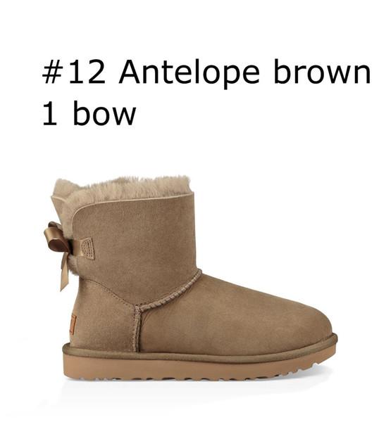 12 Antelope brown 1 bow
