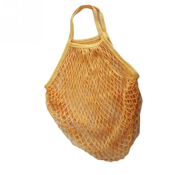 1 ADET Kullanımlık Dize Alışveriş Bakkal Çanta Shopper Tote Mesh Net Alışveriş Çantası Katlanabilir Meyve Dokuma Çanta # 05 # 251810