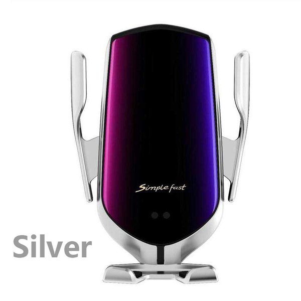 Silver Wireless Charger