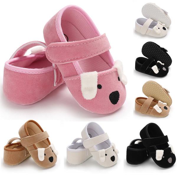 Kulak Sevimli Yavru Tasarım Ayakkabılar için Bebek Moda Bebek Ayakkabıları ile Yenidoğan Sevimli İlk Yürüyenler Bebek Çocuk Boys Kız Güzel Ayakkabı