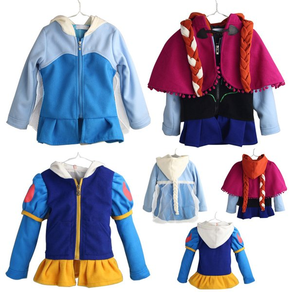 kids designer clothes girls princess coats children Cosplay Hooded Outwear with cloak spring Autumn Winter Coat Boutique baby Clothing C1404