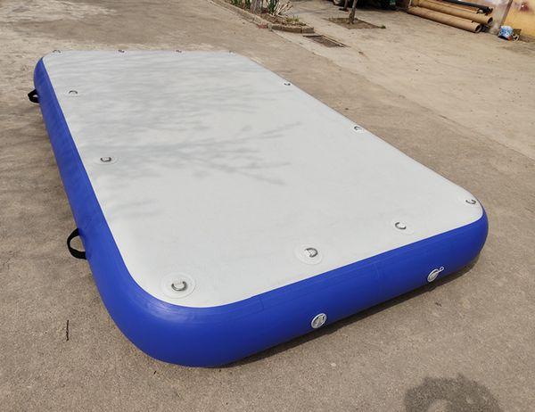 Freboard P3 30cm dick 3mx1.8m aufblasbare schwimmende Luftmatratze auf der Plattform