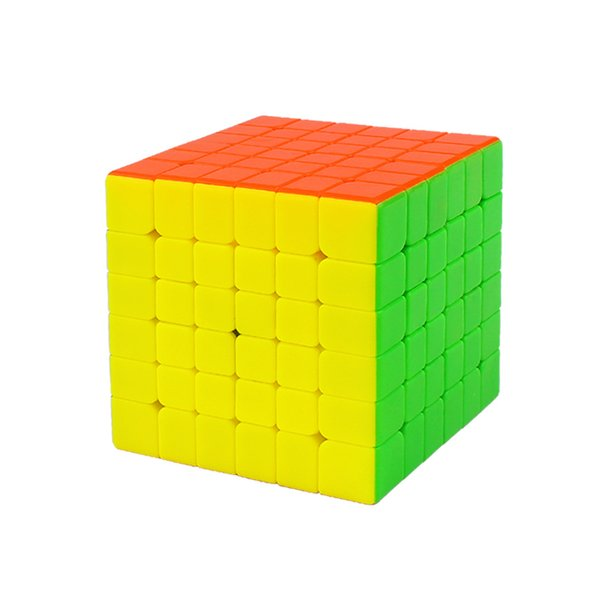 YUXIN BLACK KYLIN Magic Cubes 6x6x6 Professional Neo Antistress Cube Toys for Children Educational Toys Three models Puzzle Cube
