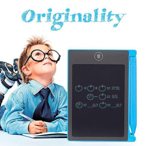 Tableta de Escritura LCD Digital Digital Portátil 4.4 Pulgadas Tableta de Dibujo Cojines de Escritura Tablero Tablero Electrónico para Adultos Niños Niños