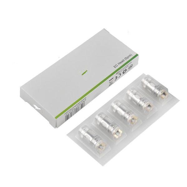 new Authentic Ijust 2 EC Bobine tête 0.3ohm 0.5ohm ECL 0.18ohm EC céramique 0.5ohm TC Bobines pour iomax S 2 Melo Atomizer