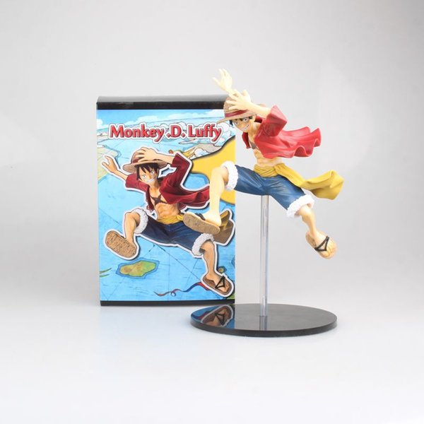 2019 New Hot Sale Ps4 One Piece The Straw Hat Pirates Monkey D Luffy Gum Gum Fruit Jump Ver 21cm Pvc Gift For Children From Junies0830952405 8 84