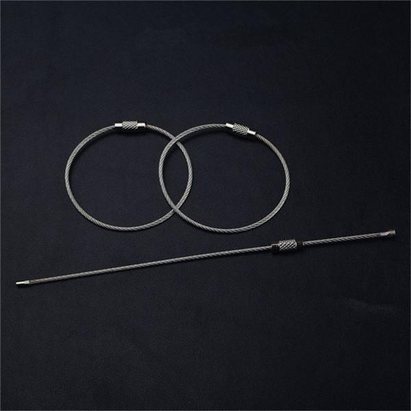 Cadeias de Jóias de moda QOONG 10 PCS Corrente de Fio de Metal Cadeia de Aço 73f38e6867