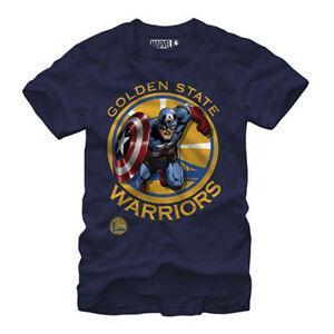 T-shirt Marvel Custom Captain America personnalisé pour hommes