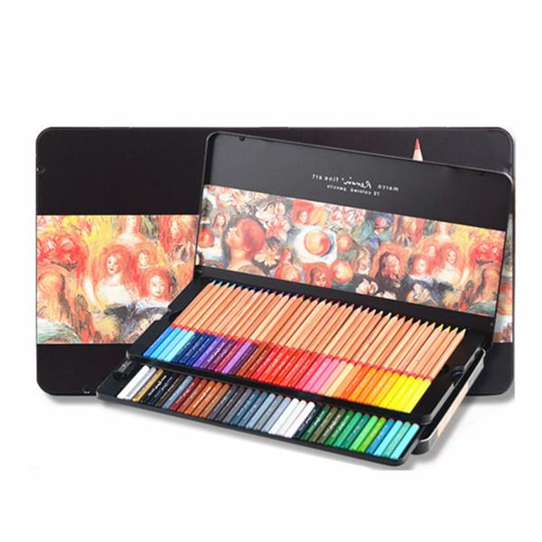 Marco Renoir 72 Colors Pencil Oil Base Professional Artist Drawing Sketching