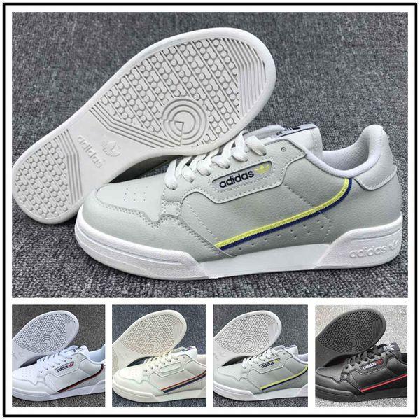 Acheter 2019 Designer Shoes Adidas Men Women Calabasas PowerPhase Gris Continental 80 Casual Chaussures Kanye West Aero Bleu De Base Des Femmes Noires