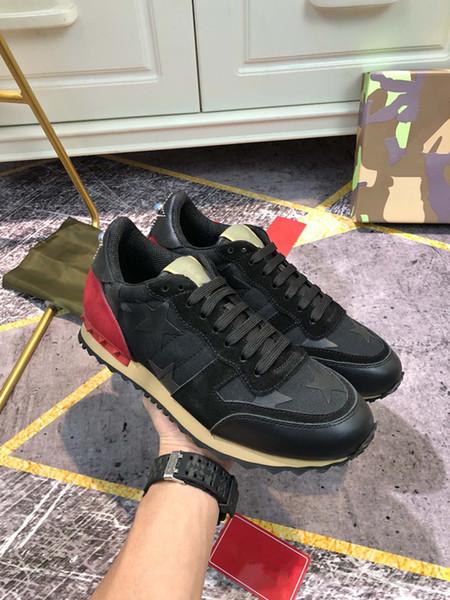 Black Suede Platform Shoes Designer Men Casual Shoes Women Plate-forme Sneaker Low Top Lace-Up Women Flat Shoes Fashion Luxury Leather Shoe