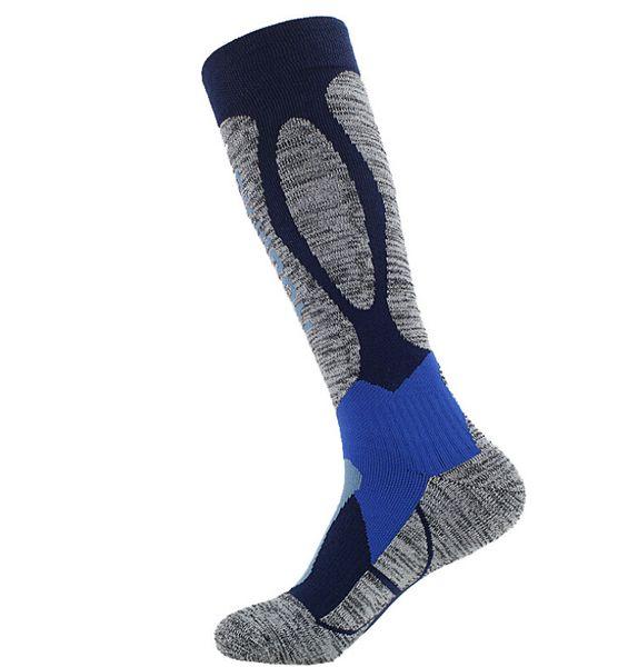 Ski socks men and women sports long tube skating mountaineering moisture deodorant function thickening towel bottom socks