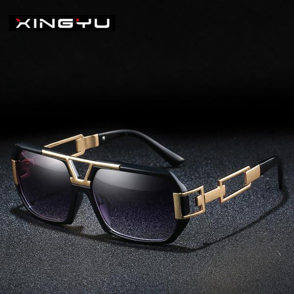 Série de lunettes de soleil pour hommes et femmes à la mode Lunettes de soleil classiques à grande monture Lunettes de conduite Lunettes de pêche Lunettes de soleil XY163