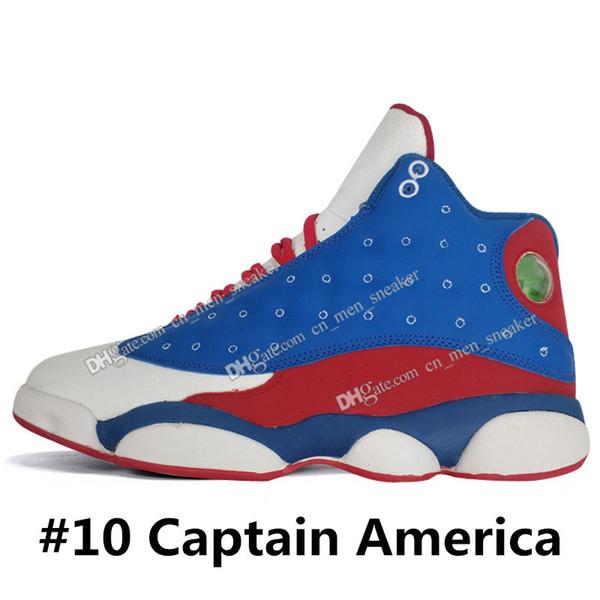 # 10 Капитан Америка