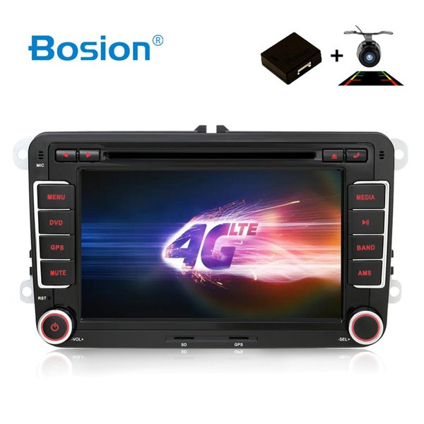 HD Android 7.1 Car DVD VW GPS Navigation Wifi+Bluetooth+Radio Autoradio 2 Din For Volkswagen GOLF 4 5 6 POLO PASSAT JETTA TIGUAN