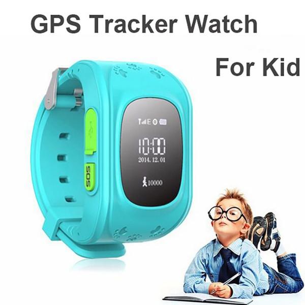 Q50 GPS LCD Akıllı Çocuklar İzle SOS Çağrı Konumu Bulucu Çocuk Bulucu Izci Anti-kayıp Monitör Bebek İzle IOS Android