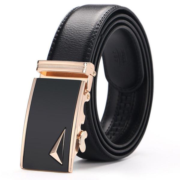 e519454cc Cintos de luxo Casual Designer de Moda Correias de Cintura Cintos de Fivela  Automática Mans Calças