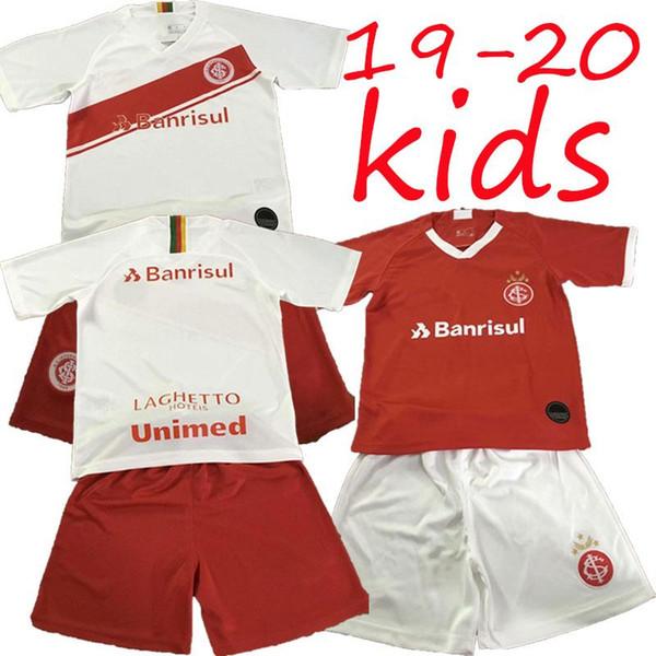 kids kit 2019 2020 Internacional RS soccer jersey 19 20 Internacional home away jersey R.Sobis D.ALESSANDRO NICO football shirt