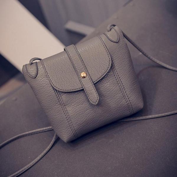Cheap Fashion Womens PU Leather Crossbody Bag Lady Satchel Crossbody Shoulder Messenger Bag Handbag Bolsas Femininas
