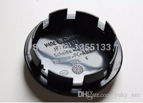 20pcs 65mm wheel center hub caps Logo badge emblems for Golf Jetta Mk5 Passat B6 for VW 3B7 601 171 Car styling