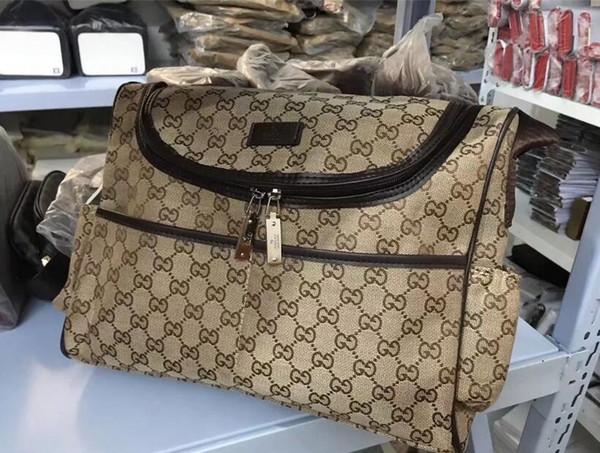 2019 Avrupa ve Amerika Birleşik Devletleri yeni moda Messenger iş çantası taşınabilir evrak çantası yumuşak deri erkek omuz çantası # 002