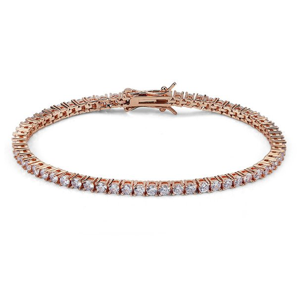 3mm 7inch Rose Gold