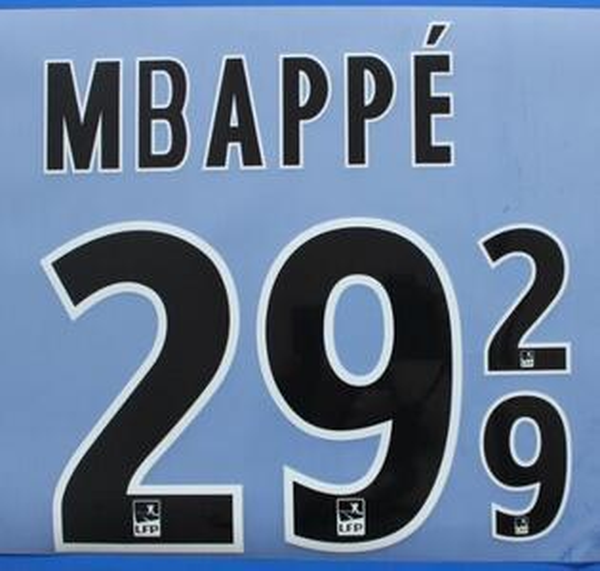 Black #29 MBAPPE
