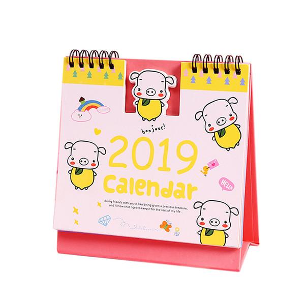 Achat Calendrier 2019.Acheter Calendrier 2019 Planificateur Hebdomadaire Planificateur Mensuel Liste Des Taches Calendrier De Bureau De Dessin Anime 11 6 De 37 02 Du