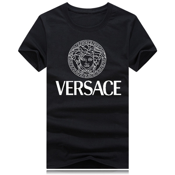 Medusa New Luxury col rond T-shirt Street à manches courtes polo shirt hommes teel hip Designer hommes